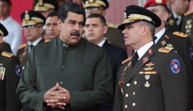 Maduro ratifica como ministro de Defensa del régimen a Vladimir Padrino