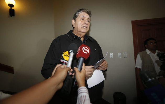 García califica como 'prácticas montesinistas' la presunta interceptación telefónica