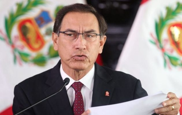 Congreso autoriza viaje de Vizcarra a Panamá para cambio de mando