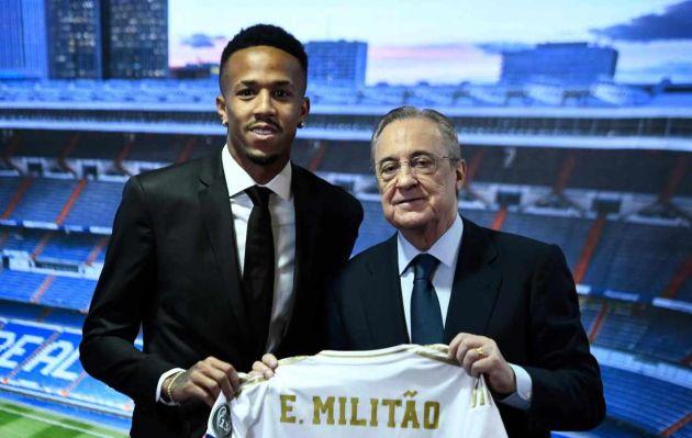 Real Madrid: Eder Militao fue presentado oficialmente como refuerzo de la 'Casa blanca'