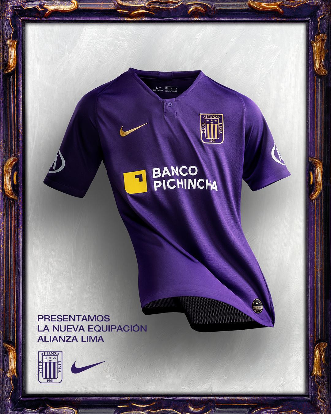 Esta será la camiseta de Alianza Lima en octubre. (Foto. Club Alianza Lima)