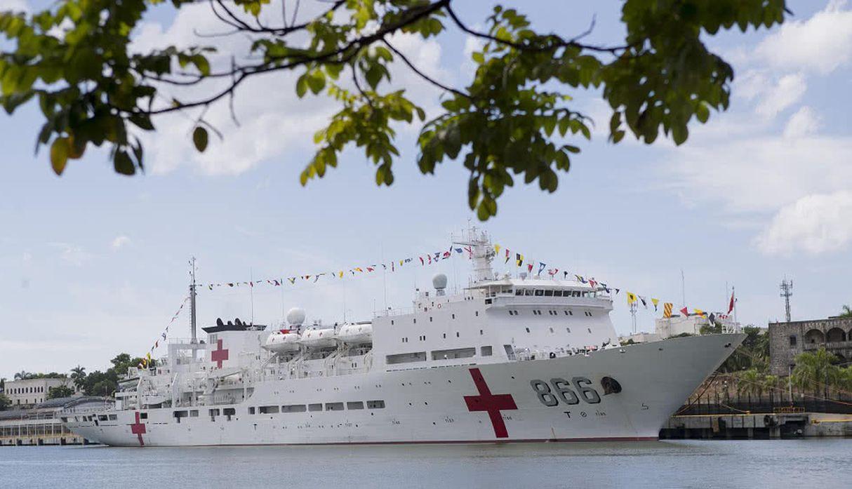 EE.UU. desplegará un buque hospital en la región ante crisis en Venezuela