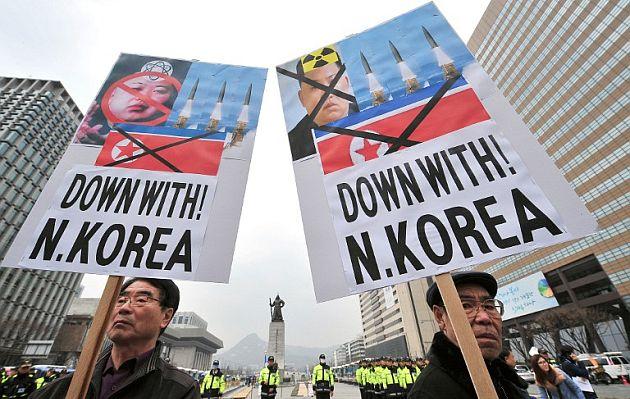 Corea del Norte lanza 30 misiles de corto alcance al mar