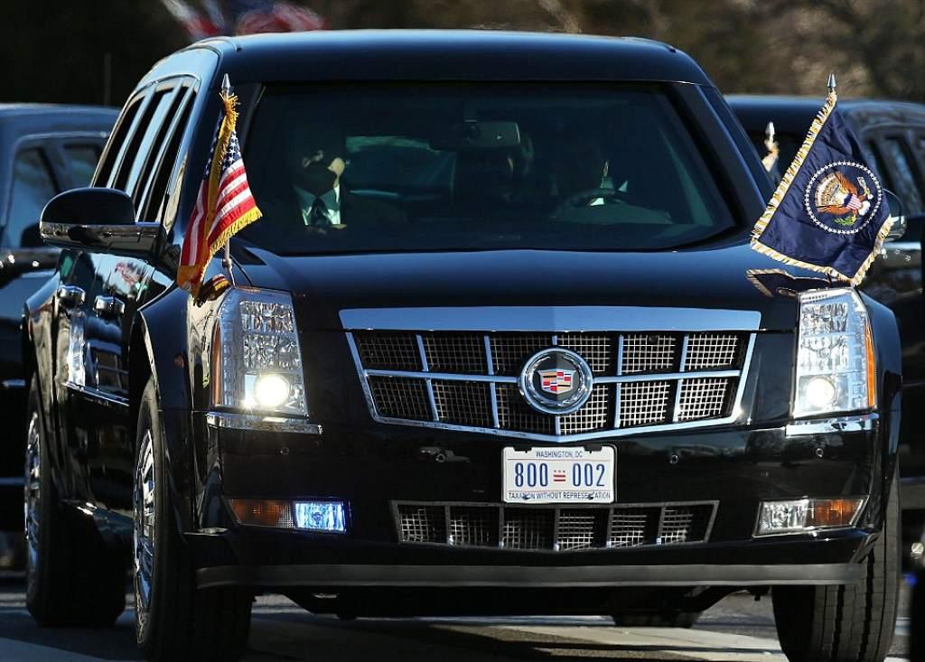 Conoce a La Bestia, el carro que usará Trump en su visita al Perú [VIDEO]