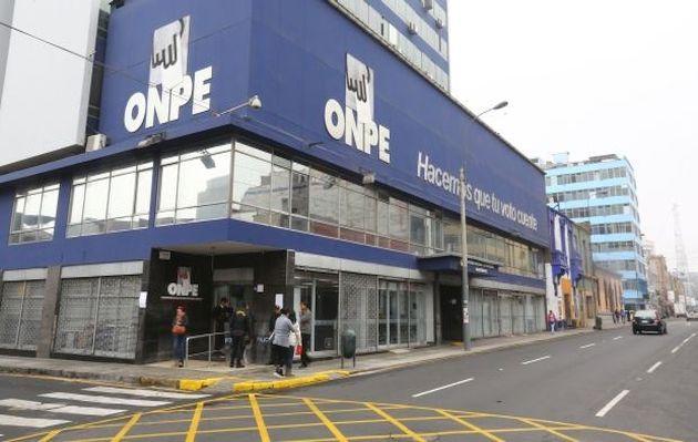 Partidos tienen hasta el 1 de julio para presentar informes financieros, informa la ONPE
