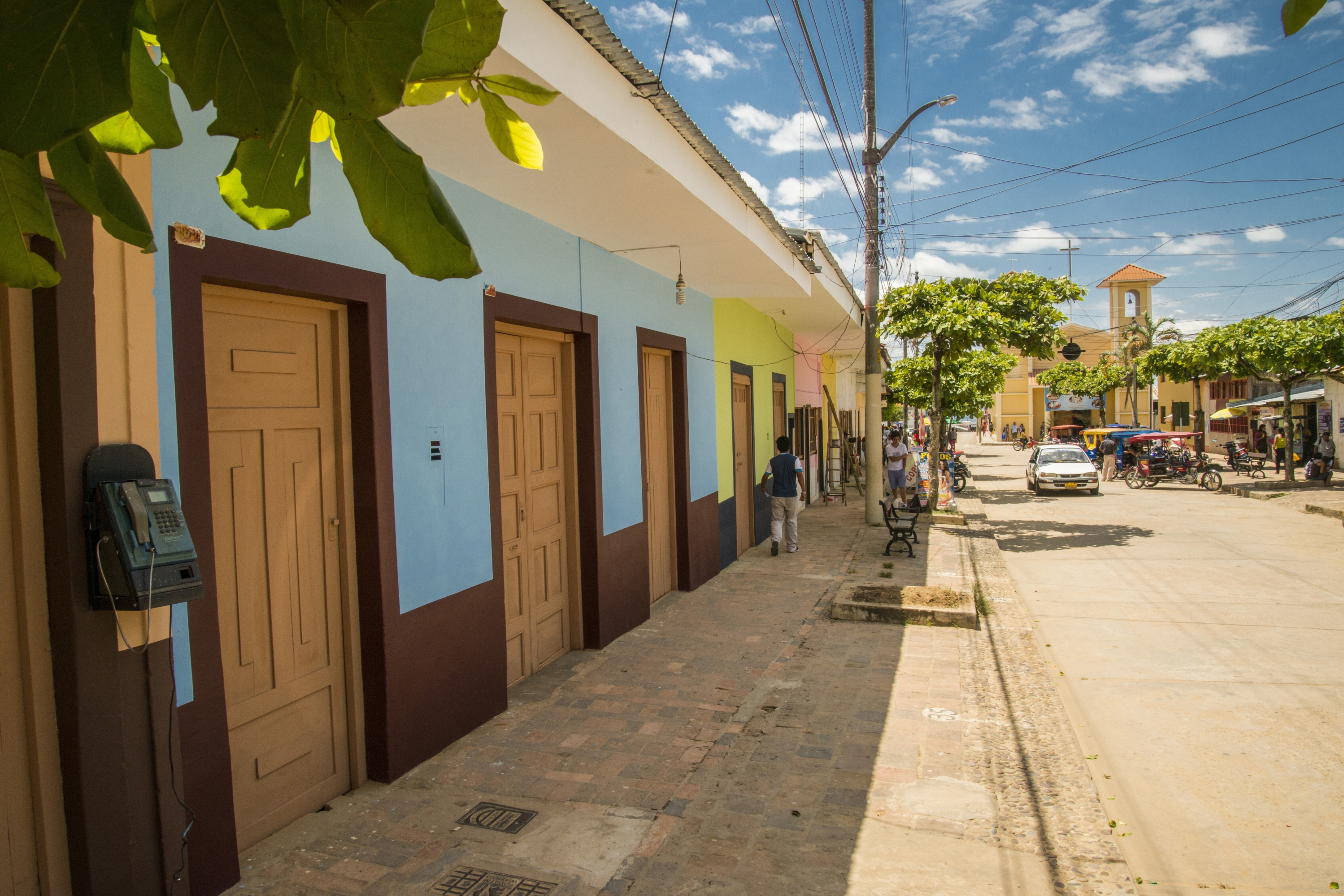Las calles de Lamas se caracterizan por ser coloridas. (Foto: PromPerú)