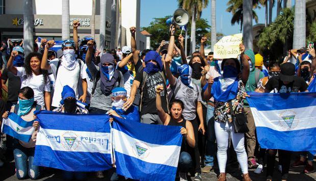 "Opositores se amotinan para demandar ""inmediata libertad"" en Nicaragua"