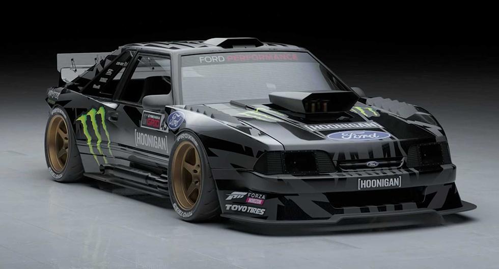 Ford Mustang Fox-Body: el nuevo deportivo de Ken Block para la competencia | FOTOS