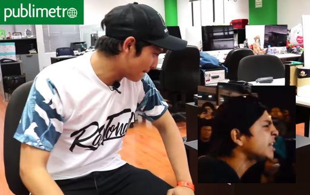 YouTube: Calero MC cuenta cómo nació su rima viral | Batallas de rap
