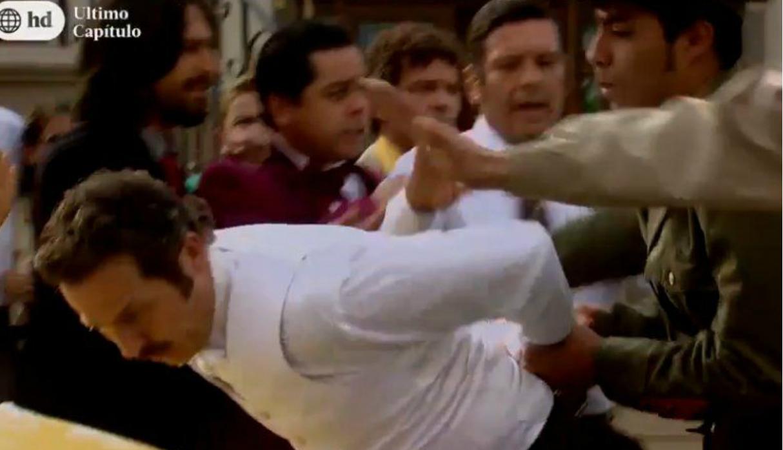 De vuelta al barrio: ¡Pichón fue detenido por estafa y Malena quedó desconsolada al término de su boda!