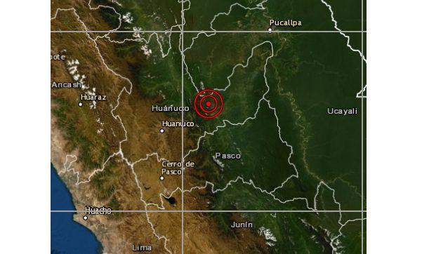 Huánuco: sismo de magnitud 4,2 se reportó en Puerto Inca, según IGP