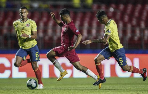 Colombia venció 1-0 a Catar por la Copa América Brasil 2019