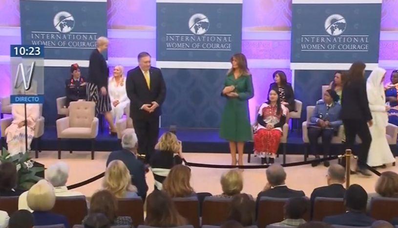 Fiscal peruana fue reconocida con premio 'Mujeres Coraje' en Estados Unidos