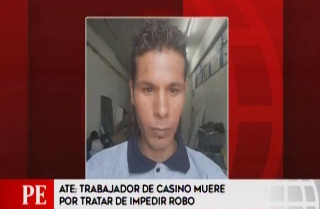 Ate: trabajador de casino muere por tratar de impedir robo
