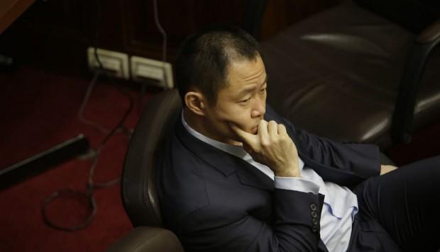 Kenji Fujimori: se suspendió la votación para que regrese al Congreso por falta de quórum