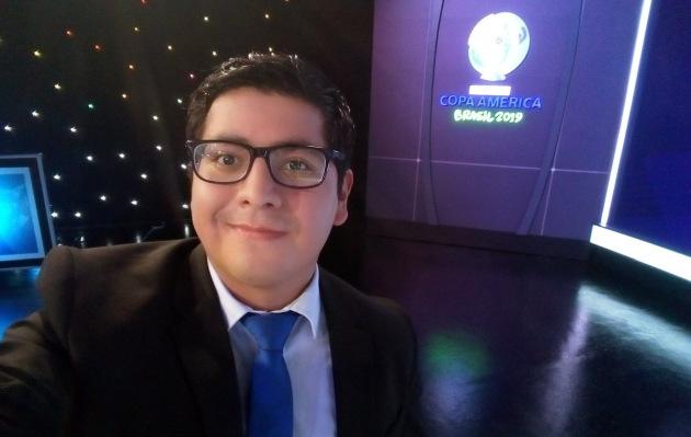 Brasil 2019: Jehofred Sulca, el relator que divide opiniones con sus frases