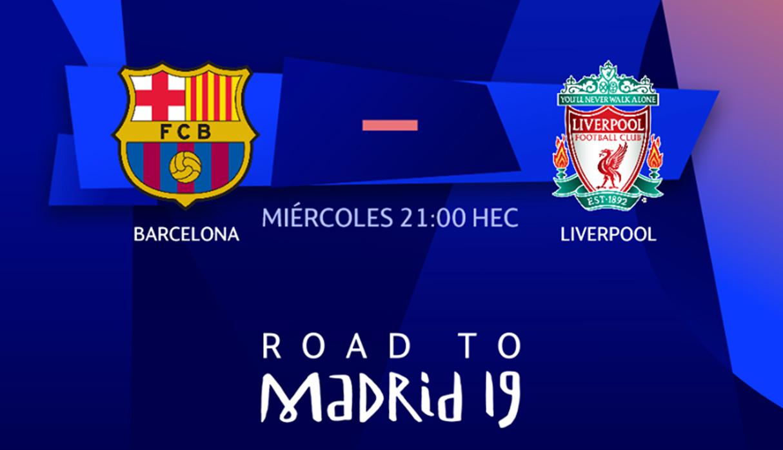 Barcelona goleó 3-0 a Liverpool por la semifinal de Champions League
