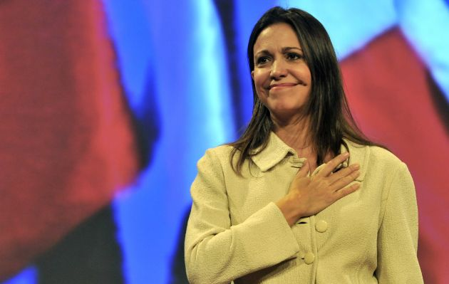 "María Corina Machado: ""Voy a regresar a mi país porque soy diputada"""