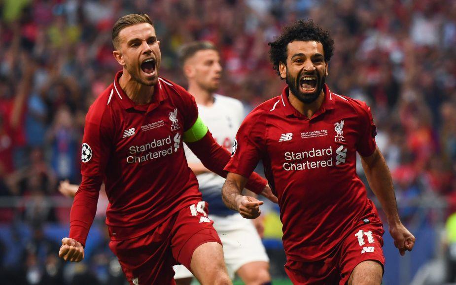 Liverpool derrotó 2 a 0 al Tottenham y es el nuevo campeón de la Champions League