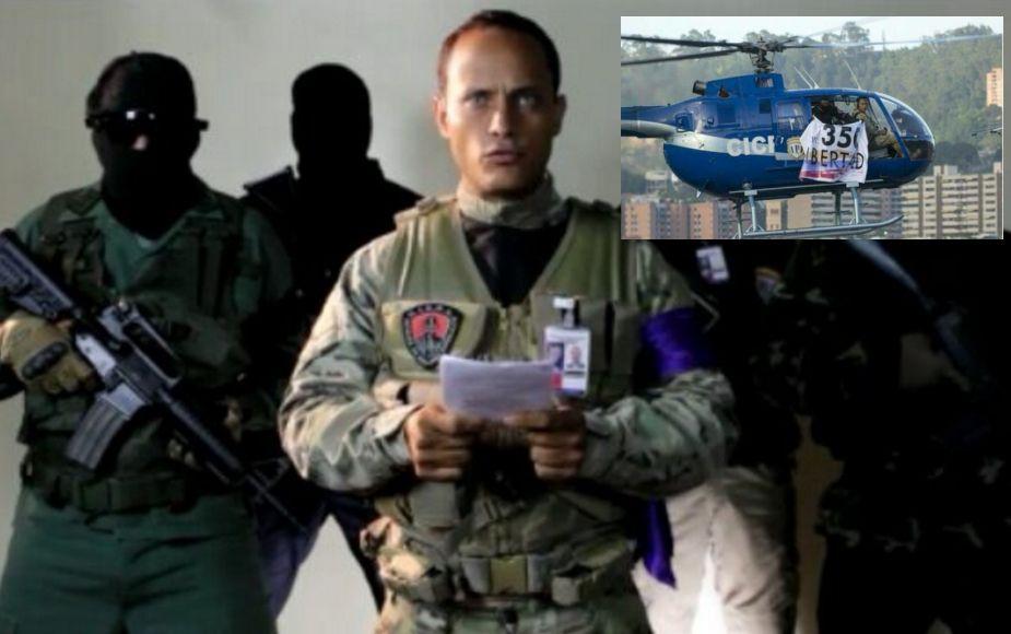 Venezuela: Policía lanza granada desde helicóptero y llama a la insurgencia
