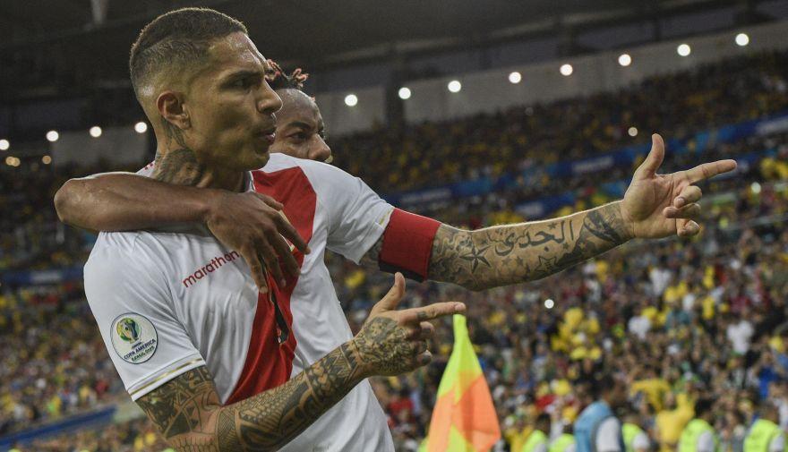 Paolo Guerrero figura en el equipo ideal de la Copa América 2019 junto con otros dos peruanos | FOTOS