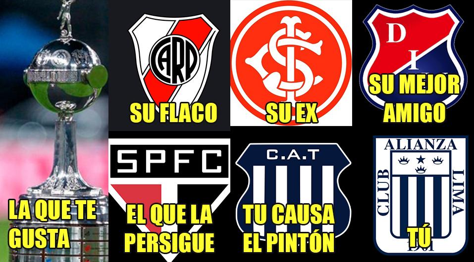 Alianza Lima: los memes que lo dan por muerto tras el sorteo de la Copa Libertadores | FOTOS