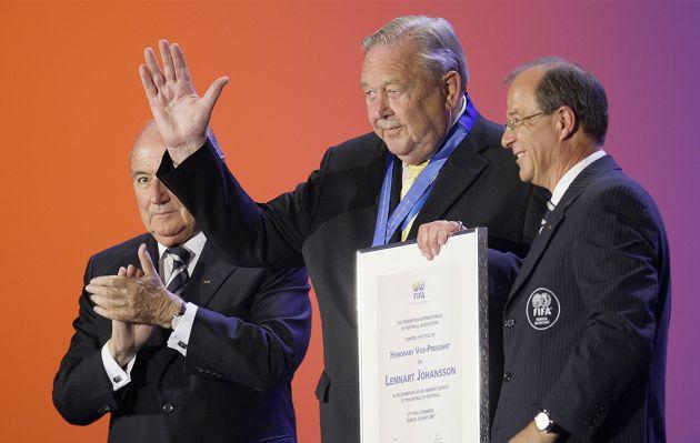 Falleció Lennart Johansson, el 'arquitecto' de la Champions League