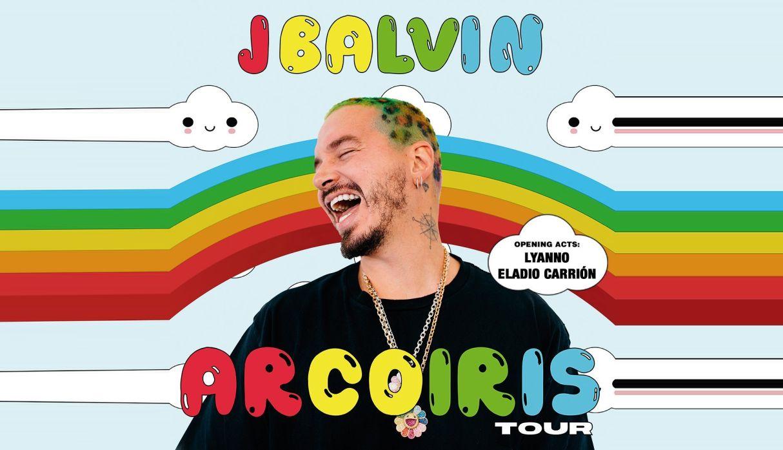Resultado de imagen para j balvin arcoiris tour banner