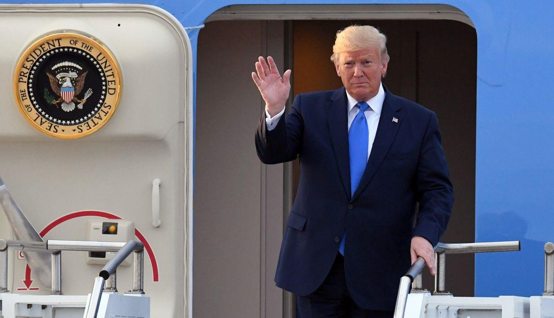 Trump llega a Seúl ante un posible encuentro con Kim Jong-un en la frontera