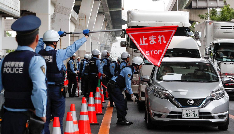 Fuertes medidas de seguridad a horas de la cumbre del G20 en Osaka | FOTOS