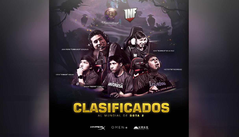 DotA 2: Equipo peruano Infamous Gaming logra clasificación al 'mundial' del videojuego