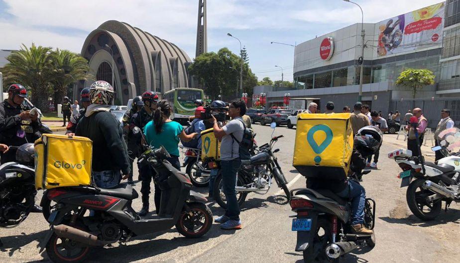 Miraflores: así fue la operación policial en el Óvalo Gutiérrez que atemorizó a ciudadanos | FOTOS