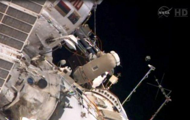 Estación Espacial Internacional puso en órbita satélite peruano Chasqui 1