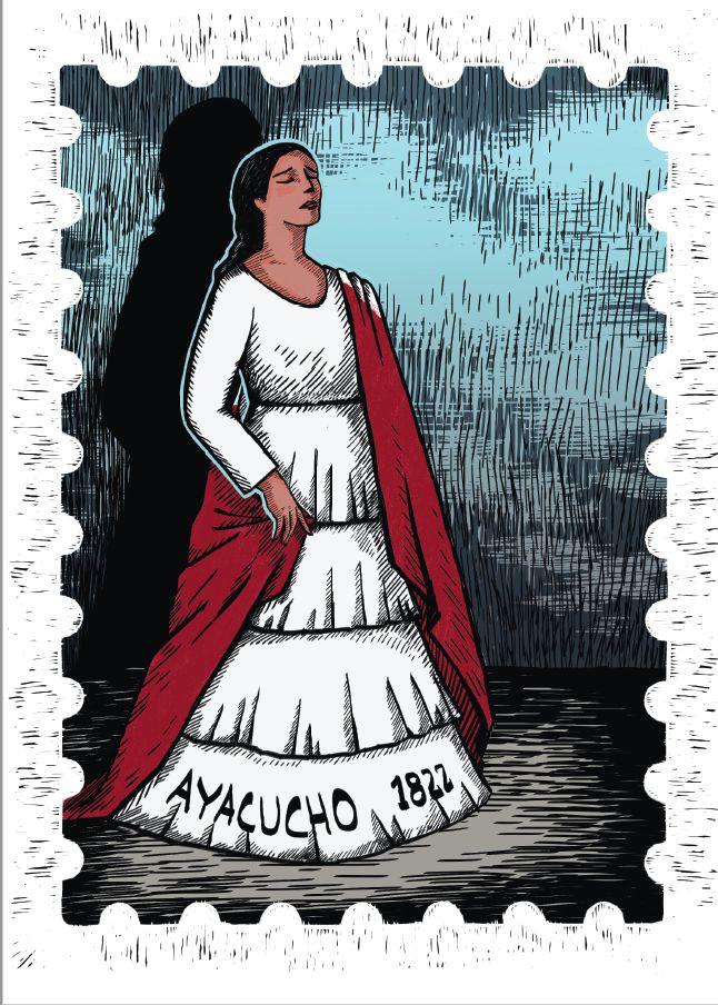 María Parado de Bellido, ilustrada por Sheila Alvarado (Difusión).