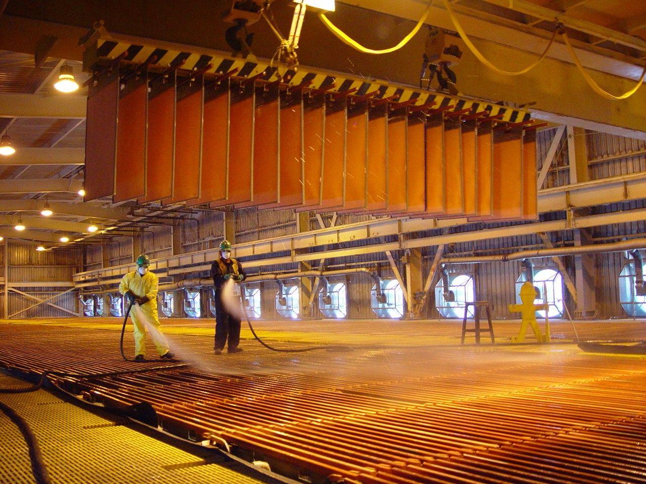Minem: Producción de cobre se incrementó 4% en agosto