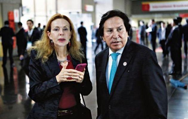 Vencieron pasaportes diplomáticos de Alejandro Toledo y Eliane Karp