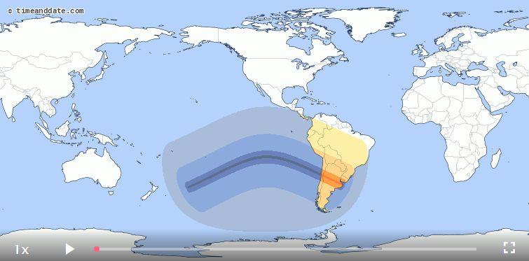Eclipse solar del 2019 podrá verde en Lima (timeanddate.com)