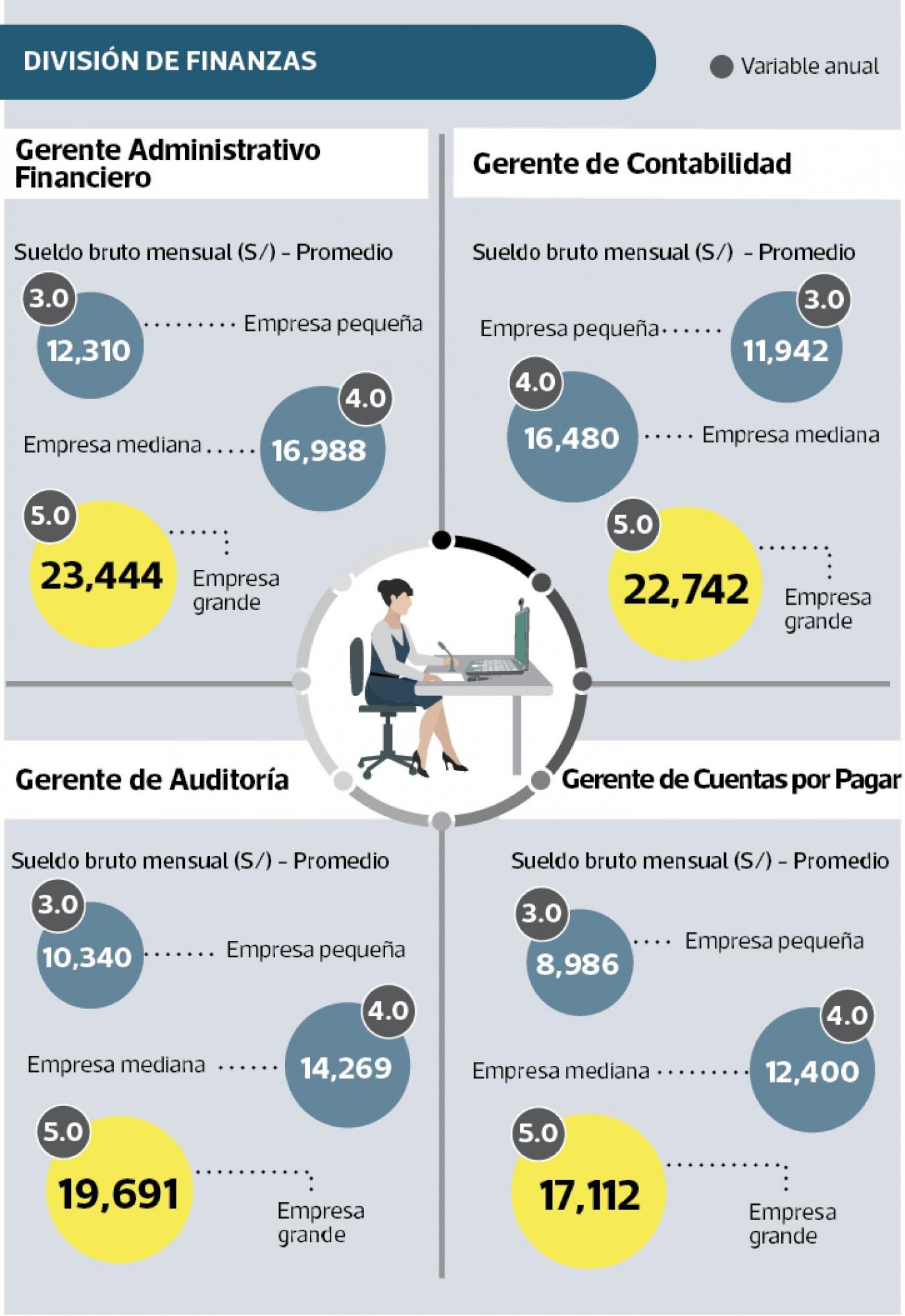 gerentes de finanzas