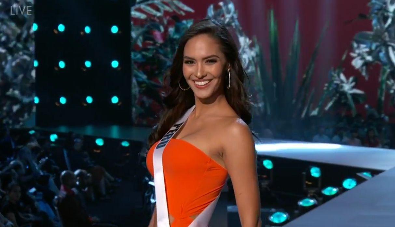 Miss Universo 2018: Romina Lozano deslumbró en la competencia preliminar del certamen
