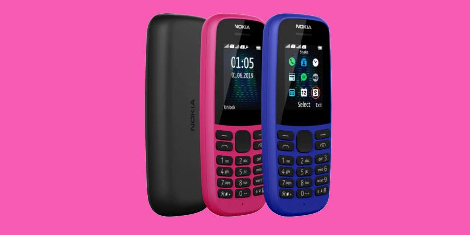 Nokia lanza sus renovados celulares 105 y 220 4G con batería que dura... ¡hasta 1 mes!