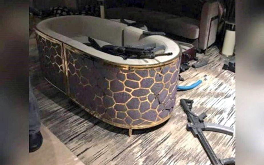 Revelan fotos de la habitación del asesino de Las Vegas