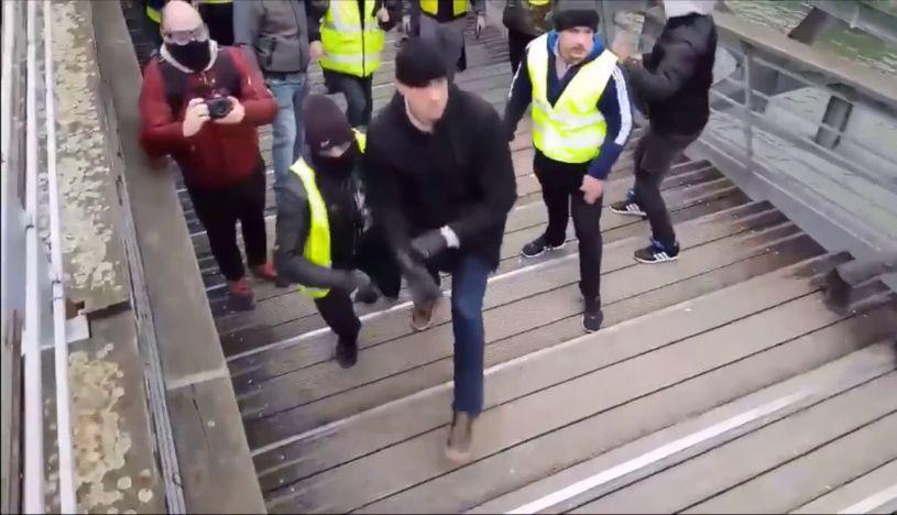 """Francia: boxeador quedó detenido tras golpear a policías en defensa de los """"chalecos amarillos"""""""