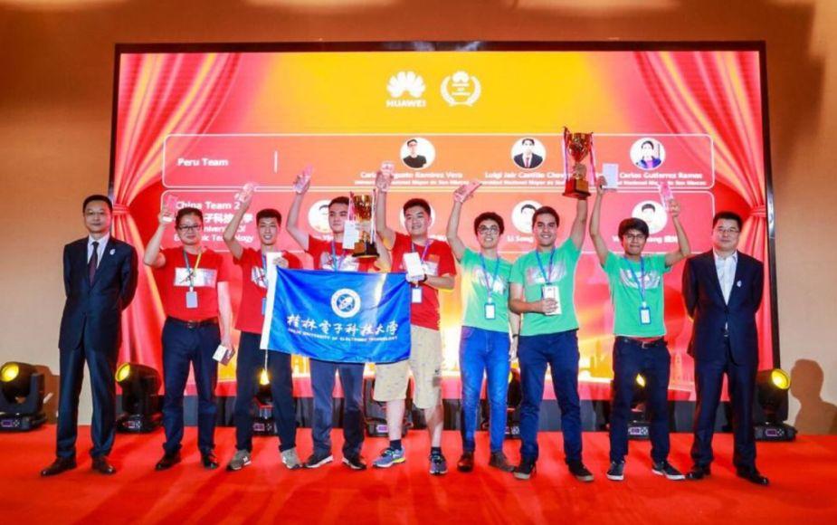 Estudiantes de UNMSM ganan concurso mundial de inteligencia artificial en China