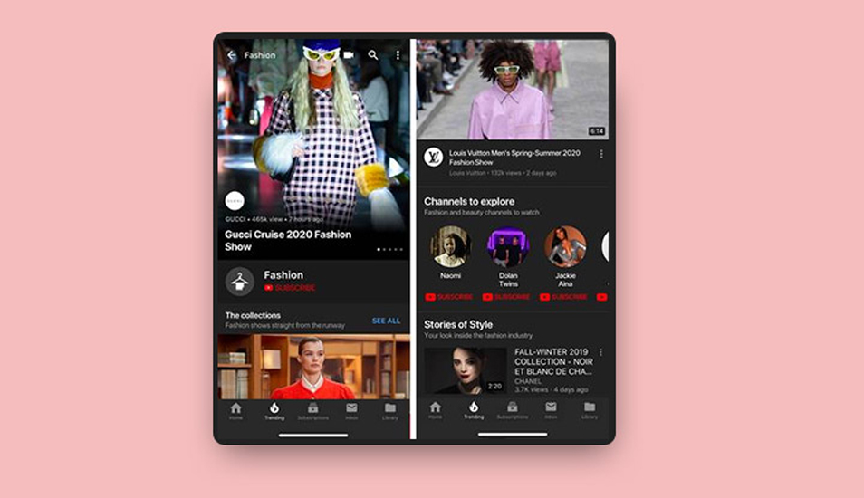 Desde septiembre podrás ver las historias que se esconden detrás de la moda en YouTube Fashion. (Foto: Google)