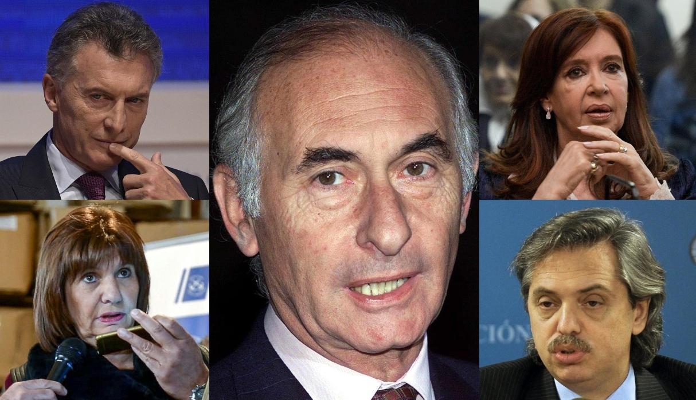 Políticos de Argentina lamentan la muerte del ex presidente Fernando De la Rúa