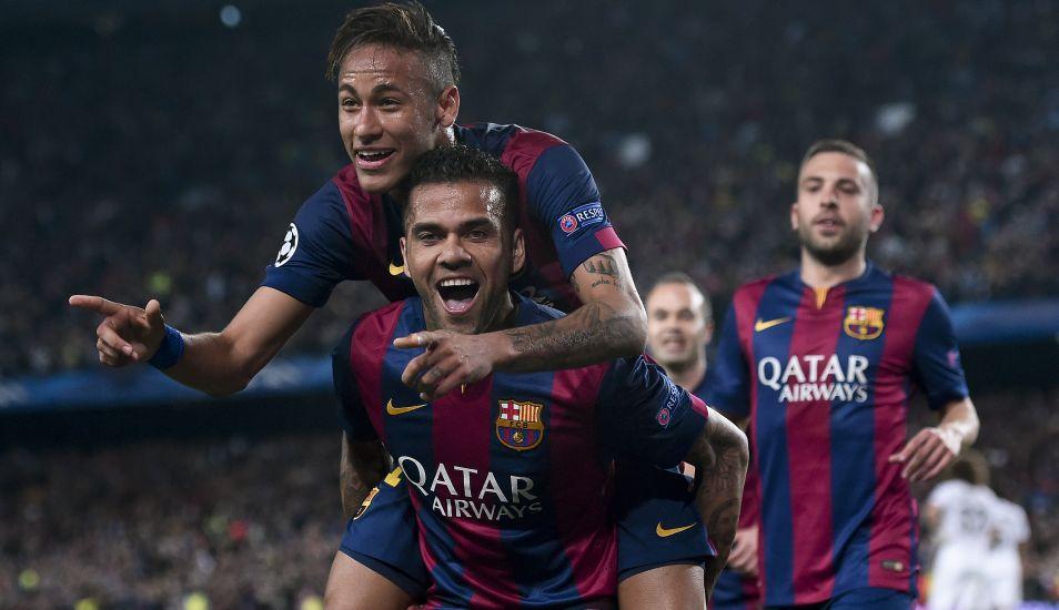 El Barcelona tasó el traspaso de Neymar en 57 millones de euros, pero posteriores investigaciones sobre la supuesta irregularidad, arrojaron cifras más allá de los 130 millones.(Foto: AFP)