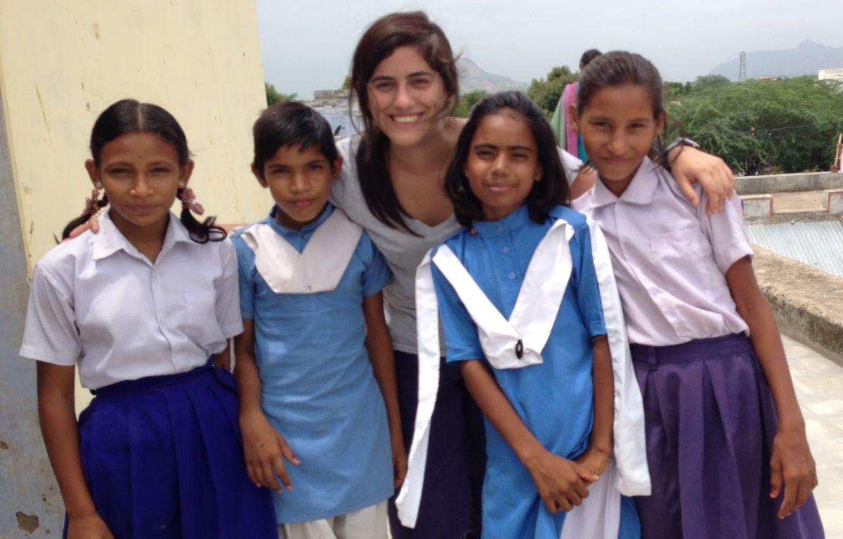 María Antonieta Alva y su trabajo para reducir la brecha de género en educación en la India [FOTOS]