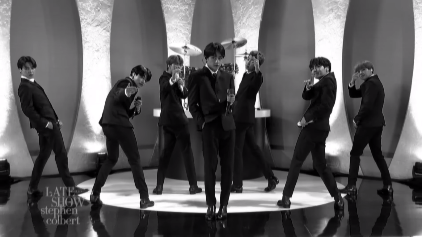 "BTS rinde tributo a The Beatles en su debut en ""The Late Show"" de Stephen Colbert 