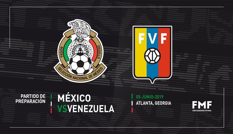 México venció 3-1 a Venezuela por amistoso internacional FIFA