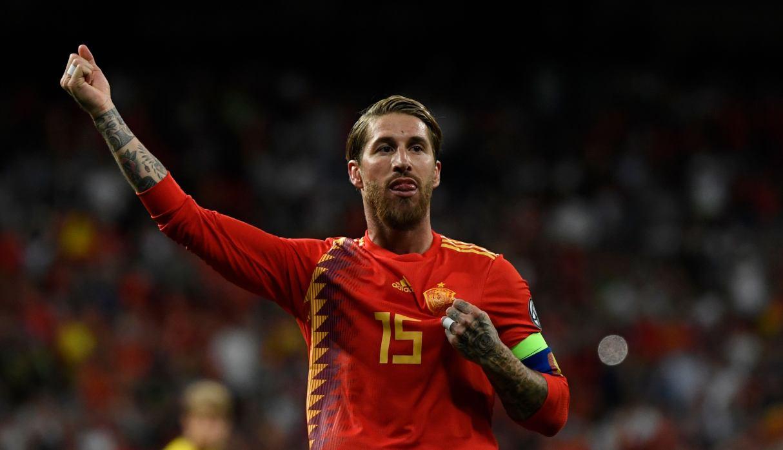 España vs. Suecia: Sergio Ramos recibió homenaje por récord conseguido con la 'Roja'